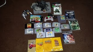 Garage Sale Video Game Finds,random Pick Ups And A Rare Game