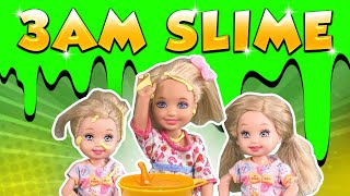 Barbie - The 3AM Slime Challenge!