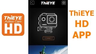 ThiEYE HD Android App with T5e 4k Action Camera