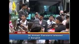 Thai authorities release Ahmadiyya refugees from detention in Bangkok, Thailand