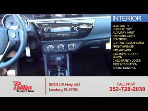 2015 Toyota Corolla 52385   Leesburg FL. Phillips Toyota