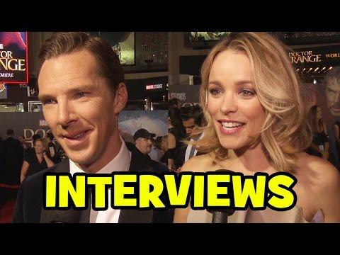 DOCTOR STRANGE World Premiere Interviews - Benedict Cumberbatch, Tilda Swinton, Rachel McAdams