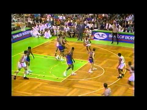 Reggie Lewis (36 Points) Vs Mark Price (27 Points)