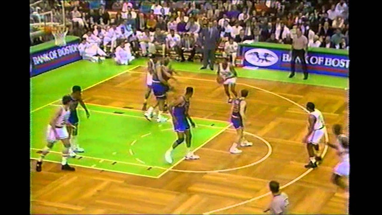Reggie Lewis 36 Points Vs Mark Price 27 Points