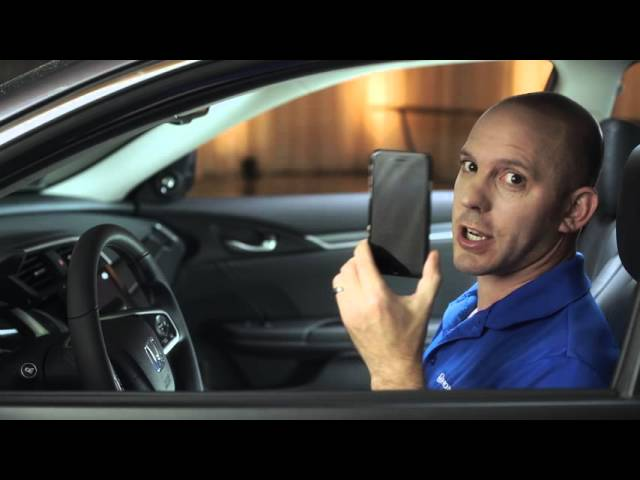 2016 Honda Civic Tips & Tricks: Apple CarPlay Setup