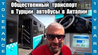 Общественный транспорт в Турции // автобусы в Анталии // цены