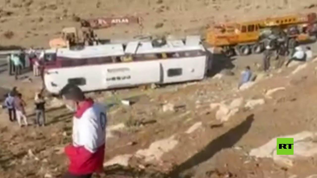 إيران.. مقتل صحفيين اثنين وإصابة 21 في انقلاب حافلة غربي البلاد  - نشر قبل 1 ساعة
