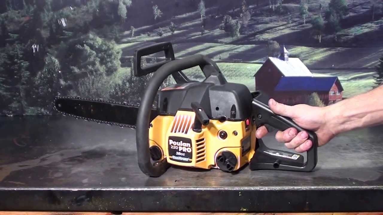 Poulan Chainsaw Fuel Line Diagram Industrial Wiring Diagrams The Guy Shop Talk 220 Pro 7 18 - Youtube