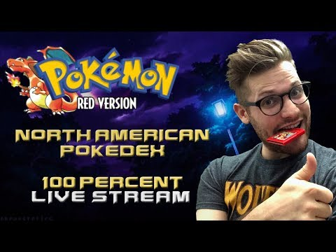 🔴 LET'S FILL THIS DEX! Pokemon Red/Blue/Yellow Live Stream