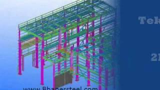 Structural Steel Detailing Tekla 3d Models
