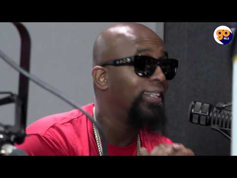 Tech N9ne & Krizz Kaliko talk with Mr. Peter Parker