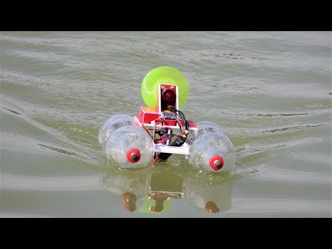 How to make a BOAT   Bottle BOAT - Recycling plastic bottles boat