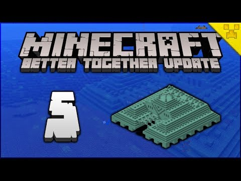 Minecraft  Taking  The Elder Guardians!  Minecraft Survival BedrockW10Pocket EditiCsole