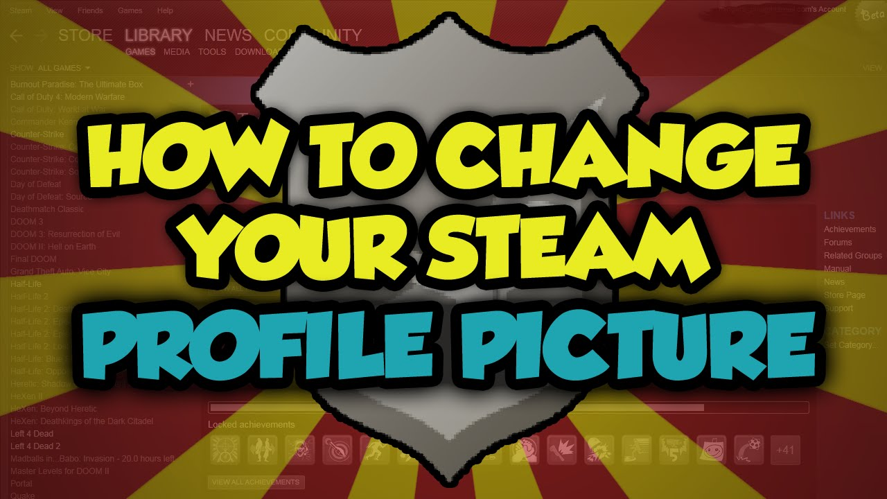 How To Change Your Profile Picture On Steam 2017 - Steam Change Profile  Picture Tutorial (EASY)