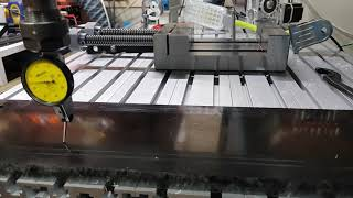 1/100 게이지로도 측정이 불가능한 평판도의 중국산 CNC