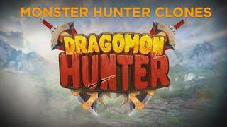 Monster hunter clones - dragomon hunter review