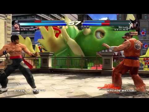 Tekken Tag Tournament 2 - [Medium - Arcade Battle] - Paul & Marshall Law Playthrough