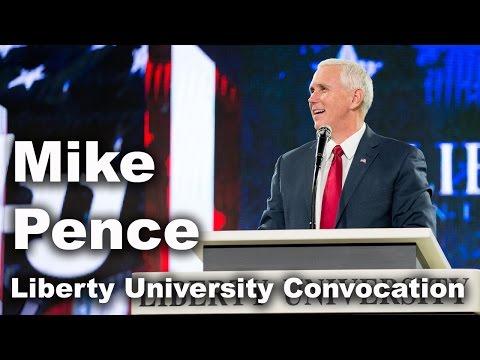 Mike Pence - Liberty University Convocation