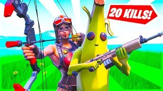Getting 20 Elims in Fortnite Champions Arena