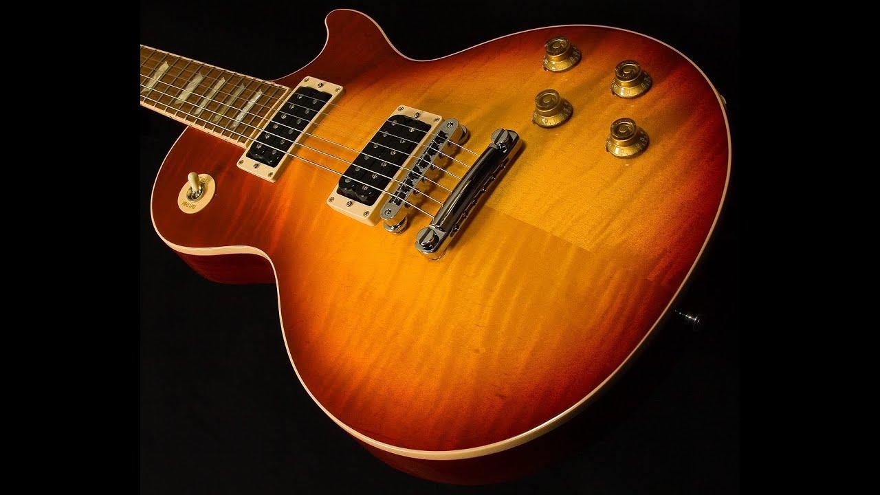 Gibson Les Paul Classic Plus Sn 128310479 Youtube Electric Guitar Vintage Sunburst The