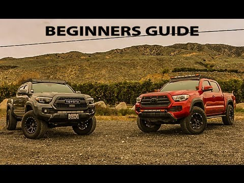 5 FIRST MODS FOR EVERY TACOMA OWNER OR ANYONE LOOKING INTO OFFROADING LOOK