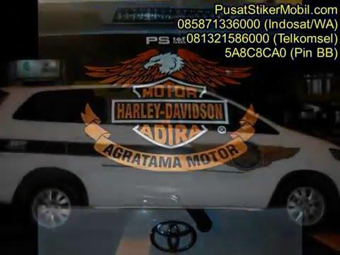 Stiker Mobil Kijang Innova 0813 2158 6000 (Smpt), 0858 7133 6000 (Indst)