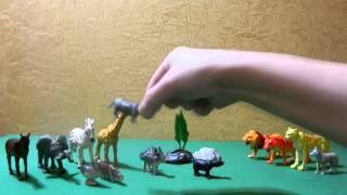 Изучение животных. Развивающий мультик для детей. Хищники и травоядные