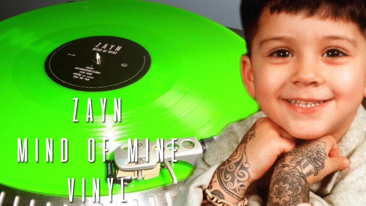 Conhecendo O Album De Zayn Mind Of Mine Em Vinil Lp