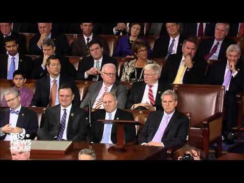 Retiring Speaker John Boehner gives farewell speech to House of Representatives
