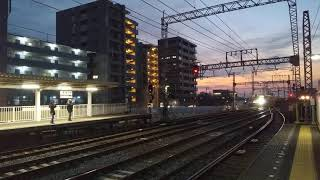 【近鉄】80000系・ひのとり 瓢簞山引上線より入線