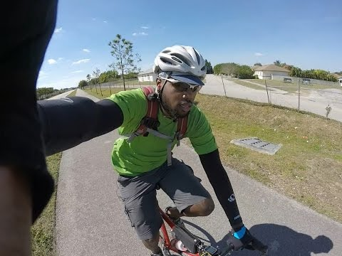 Bicycle tour, Key West to Miami (with Miami critical mass footage)