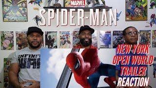 Marvel's Spider-Man New York Open World Trailer Reaction