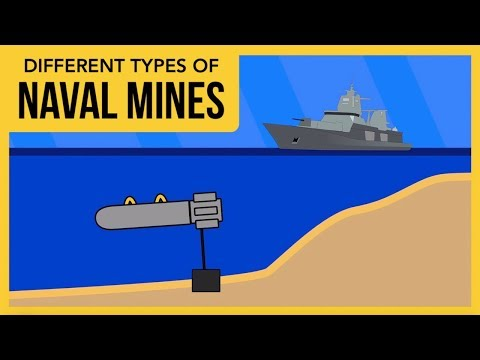 The Different Types of Naval Mines