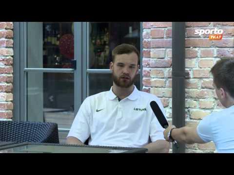 SportoTV.lt: A.Kavaliauskas: Rinktinėje treniruojiesi ir žaidi su geriausiais pasaulio krepšininkais