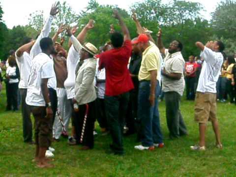 Kappas doing their chant