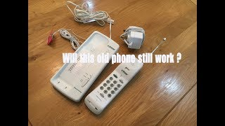 22 year old cordless phone as new ?