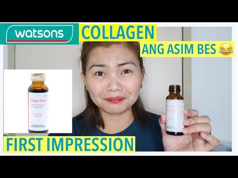 TRY NATIN WATSONS COLLAGEN DRINK| PAMPAKINIS IN A DRINK
