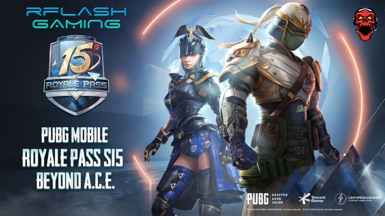 🔴 PUBG MOBILE || Royal Pass 15 || Go Beyond A.C.E.
