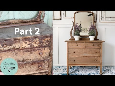 Furniture Restoration | Furniture Repair On A Dresser
