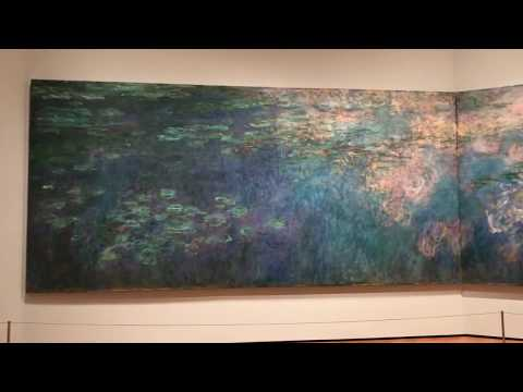 Monet's Water Lilies at the Museum of Modern Art