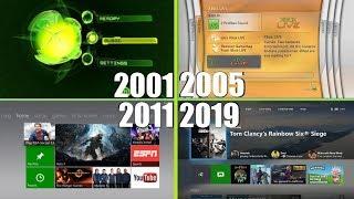 Download Xbox Dashboard Evolution 2001 2019 Xbox Original