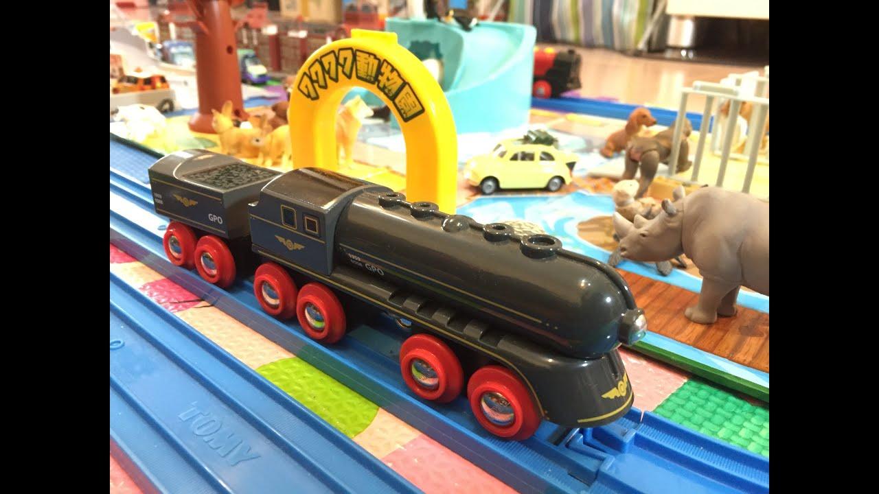 Brio wooden trains