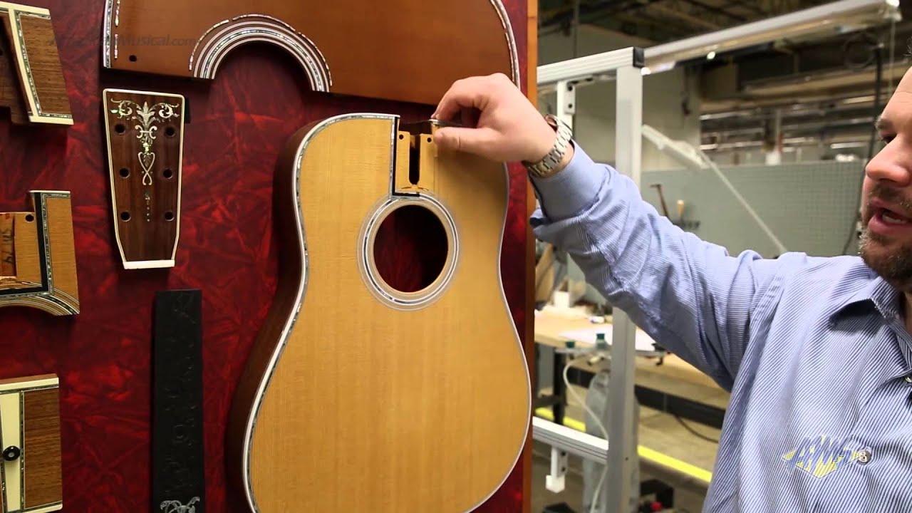 AMS C F  Martin Guitar Factory Tour - Pearl Inlay (17/23)