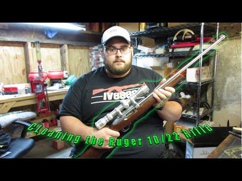 How to disassemble and clean a Ruger 10/22