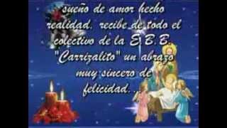 """MICRO-VIDEO:TARJETAS DE NAVIDAD, E.B.B. """"CARRIZALITO"""",SAN PABLO-YARACUY"""