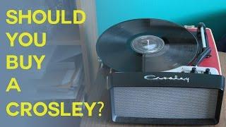 Should you buy a Crosley Turntable?