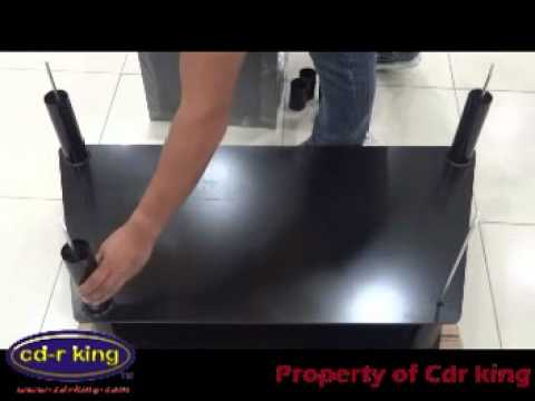 Brhf Tv026 Tv Stand Assembly Instructions Youtube