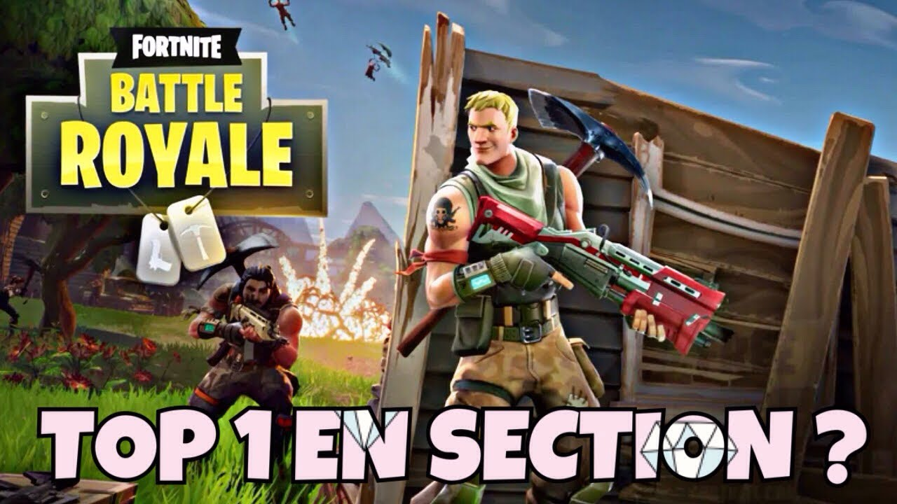 top 1 en section fortnite - section fortnite