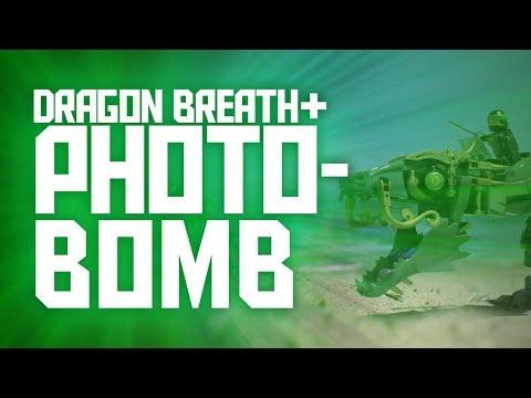 LEGO Ninjago Movie - PHOTOBOMB Meets Dragon Breath!