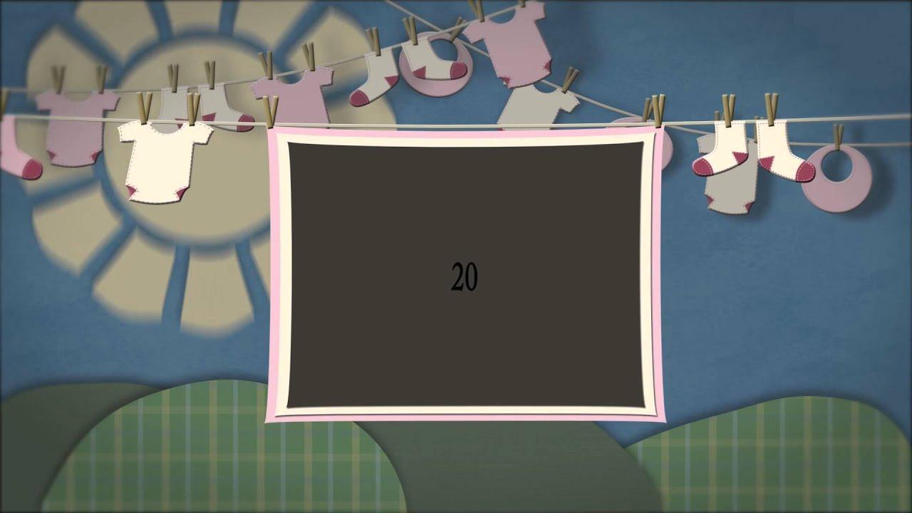 Adobe After Effects детский готовый проект клипа от ...
